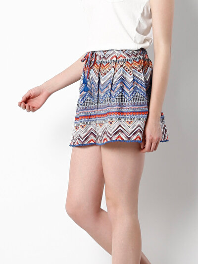 COLINS мульти женский шорты<br>Пол: женский; Цвет: мульти; Размер INT: L;