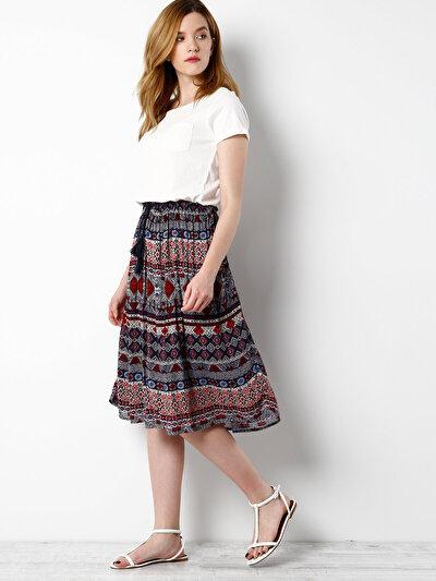 COLINS мульти женский юбки<br>Пол: женский; Цвет: мульти; Размер INT: M;