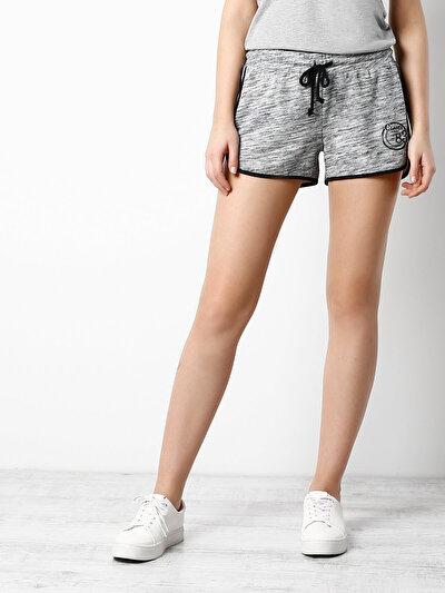 COLINS антрацит женский шорты<br>Пол: женский; Цвет: смешанный антрацит; Размер INT: M;