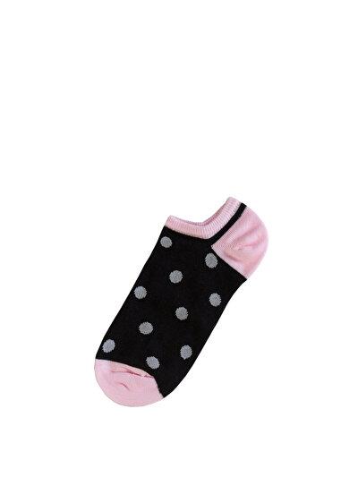 COLINS черный женский носки<br>Пол: женский; Цвет: черный; Размер INT: STND;
