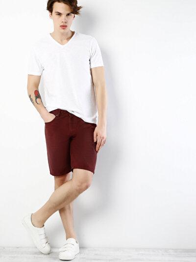 COLINS бордовый мужской шорты<br>Пол: мужской; Цвет: бордовый; Размер INT: M;