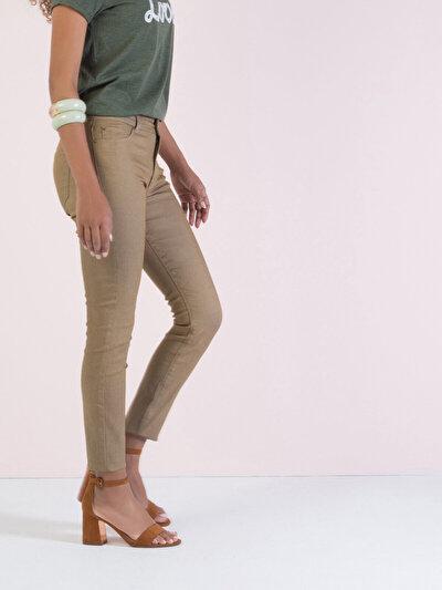 COLINS бежевый женский брюки<br>Пол: женский; Цвет: бежевый; Размер INT: 27/30;