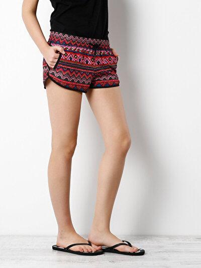 COLINS черный женский пляжные шорты<br>Пол: женский; Цвет: черный; Размер INT: XS;