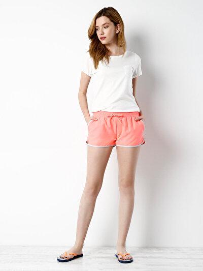 COLINS кораловый женский пляжные шорты<br>Пол: женский; Цвет: коралловый риф; Размер INT: L;