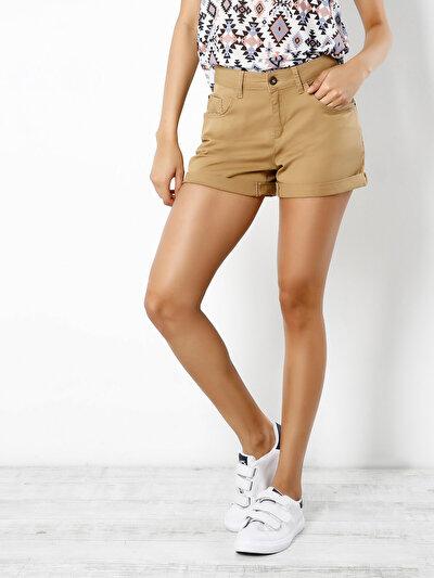 COLINS бежевый женский шорты<br>Пол: женский; Цвет: бежевый; Размер INT: 34;