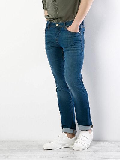 COLINS  мужской брюки<br>Пол: мужской; Цвет: далтон уош; Размер INT: 32/34;