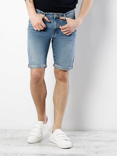 COLINS деним мужской шорты<br>Пол: мужской; Цвет: колин варка; Размер INT: S;