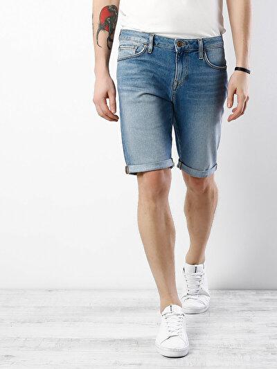 COLINS  мужской шорты<br>Пол: мужской; Цвет: виценте лайт уош; Размер INT: L;