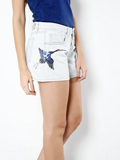 COLINS  женский шорты<br>Пол: женский; Цвет: монрaвия уош; Размер INT: 34;