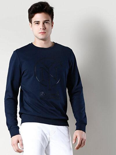 COLINS синий мужской толстовки<br>Пол: мужской; Цвет: синий; Размер INT: XXL;