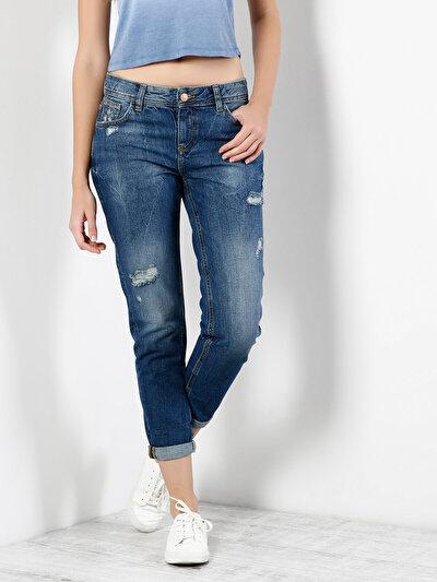 COLINS  женский брюки<br>Пол: женский; Цвет: пaрмидa уош; Размер INT: 26;