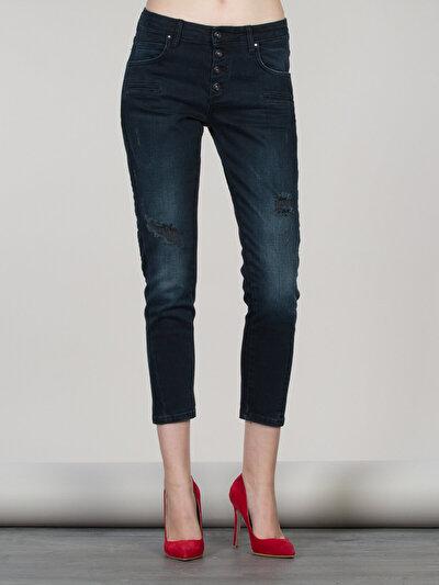 COLINS  женский брюки<br>Пол: женский; Цвет: гамбия уош; Размер INT: 30;