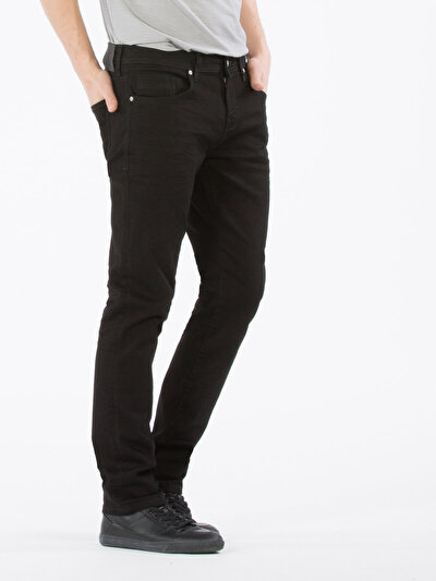 COLINS  мужской брюки<br>Пол: мужской; Цвет: блэк уинд уош; Размер INT: 28/32;