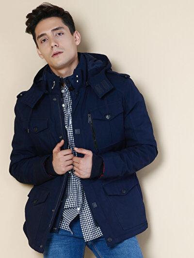 COLINS синий мужской куртки<br>Пол: мужской; Цвет: синий; Размер INT: XL;
