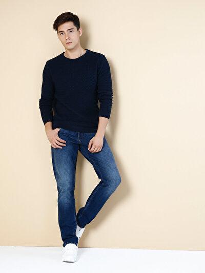 COLINS синий мужской свитеры<br>Пол: мужской; Цвет: синий; Размер INT: L;
