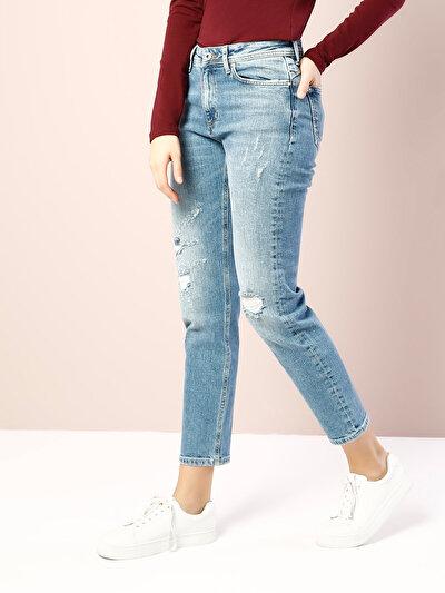 COLINS  женский брюки<br>Пол: женский; Цвет: газер уош; Размер INT: 28;