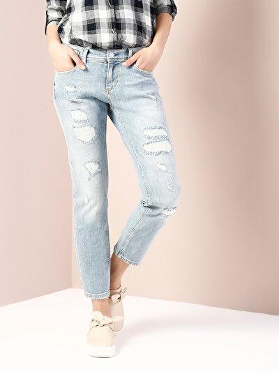COLINS  женский брюки<br>Пол: женский; Цвет: кинко уош; Размер INT: 25;