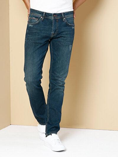 COLINS  мужской брюки<br>Пол: мужской; Цвет: мартре уош; Размер INT: 33/32;