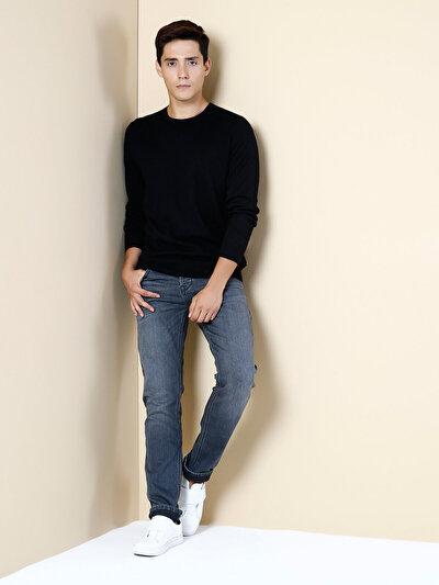 COLINS черный мужской свитеры<br>Пол: мужской; Цвет: черный; Размер INT: S;