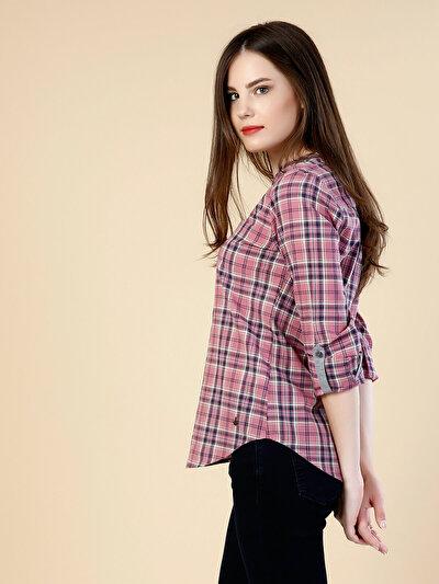 COLINS розовый женский рубашки длинний рукав<br>Пол: женский; Цвет: розовый; Размер INT: XL;