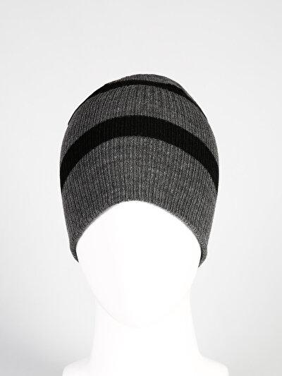 COLINS антрацит мужской шапки<br>Пол: мужской; Цвет: антрацит; Размер INT: STND;