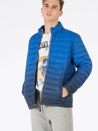 COLINS голубой <br>Пол: мужской; Цвет: сакс голубой; Размер INT: XL;
