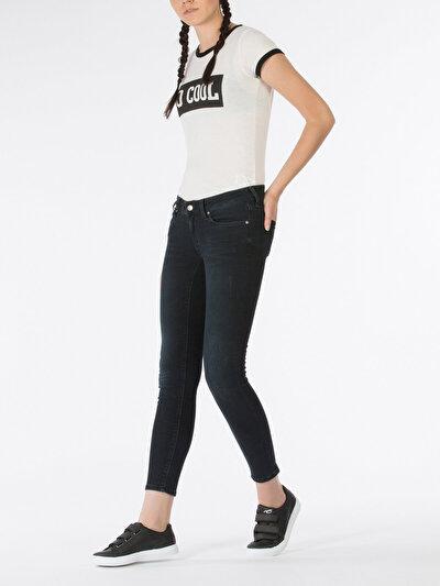 COLINS  женский брюки<br>Пол: женский; Цвет: кэди мытый; Размер INT: 25/30;