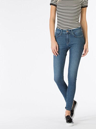 COLINS  женский брюки<br>Пол: женский; Цвет: лейси уош; Размер INT: 27/32;