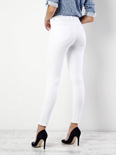 COLINS белый женский брюки<br>Пол: женский; Цвет: белый; Размер INT: 26/30;