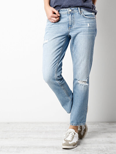 COLINS  женский брюки<br>Пол: женский; Цвет: джована уош; Размер INT: 25;