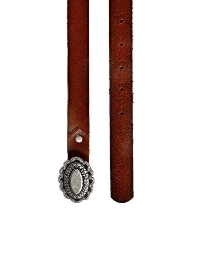 COLINS коричневый женский ремни<br>Пол: женский; Цвет: коричневый; Размер INT: 75;