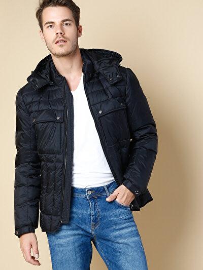 COLINS черный мужской куртки<br>Пол: мужской; Цвет: черный; Размер INT: S;