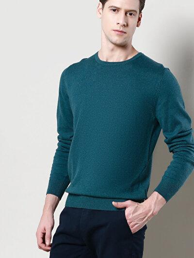 COLINS зеленый мужской свитеры<br>Пол: мужской; Цвет: смешанный зеленый; Размер INT: M;