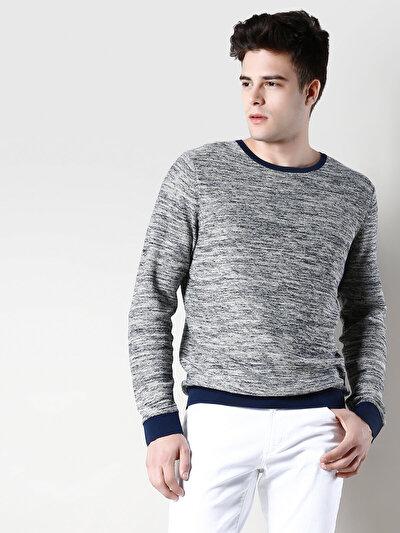 COLINS синий мужской свитеры<br>Пол: мужской; Цвет: темно-синий; Размер INT: L;
