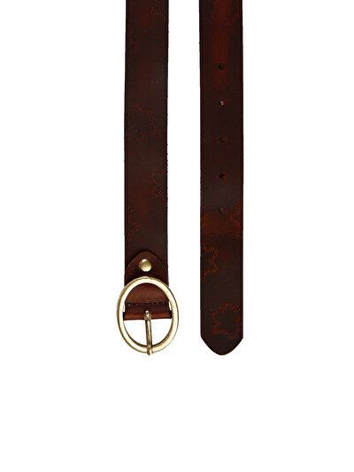 COLINS коричневый женский ремни<br>Пол: женский; Цвет: коричневый; Размер INT: 90;