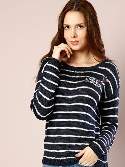 COLINS синий женский свитеры<br>Пол: женский; Цвет: синий; Размер INT: S;