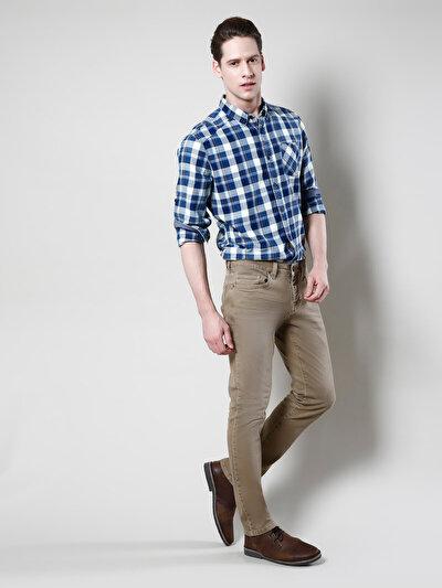 COLINS бежевый мужской брюки<br>Пол: мужской; Цвет: бежевый; Размер INT: 31/34;