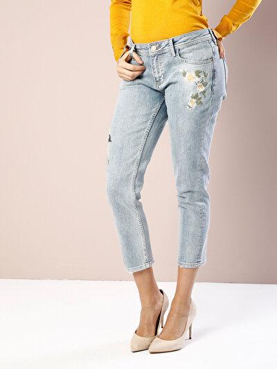 COLINS  женский брюки<br>Пол: женский; Цвет: росaли уош; Размер INT: 25;