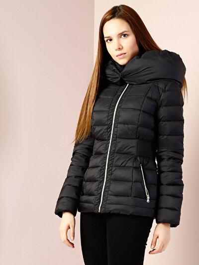 COLINS черный женский куртки<br>Пол: женский; Цвет: черный; Размер INT: S;