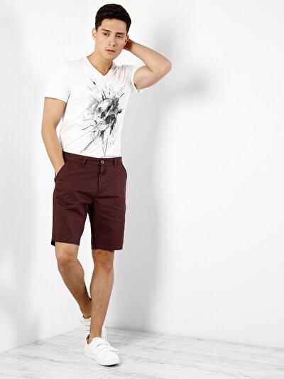 COLINS красный мужской шорты<br>Пол: мужской; Цвет: красный; Размер INT: S;