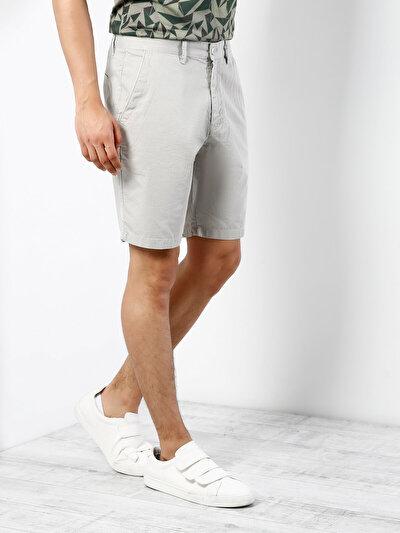 COLINS белый мужской шорты<br>Пол: мужской; Цвет: каменный; Размер INT: L;