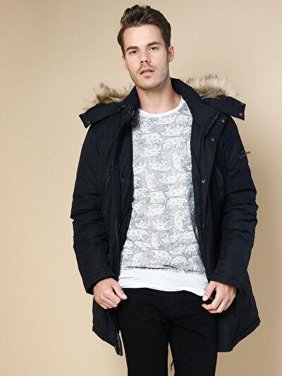 COLINS черный мужской пальто<br>Пол: мужской; Цвет: черный; Размер INT: M;