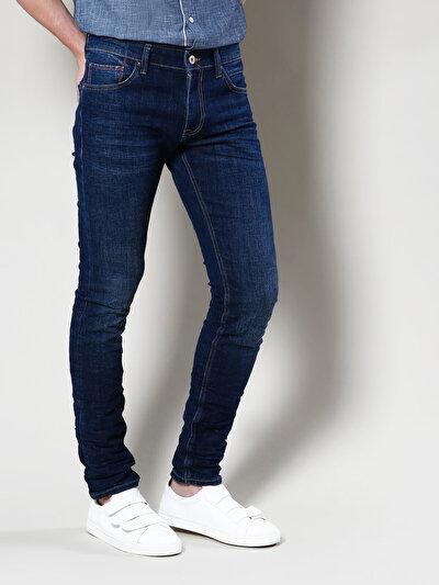 COLINS деним мужской брюки<br>Пол: мужской; Цвет: дарк уолф уош; Размер INT: 33;