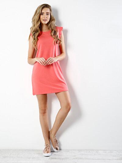 COLINS розовый женский платья<br>Пол: женский; Цвет: розовый; Размер INT: L;