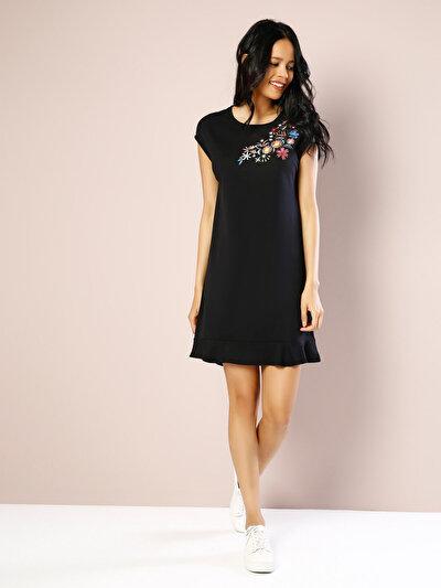 COLINS черный женский платья<br>Пол: женский; Цвет: черный; Размер INT: M;