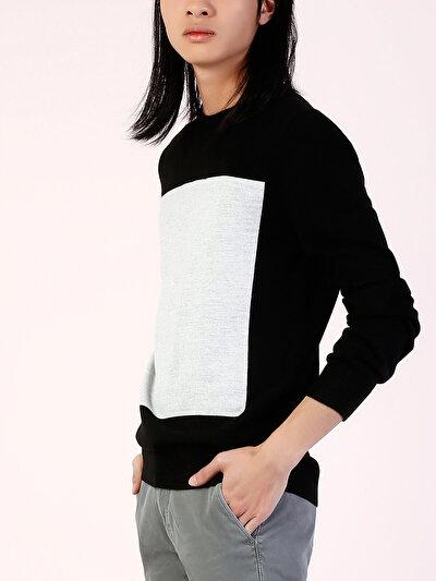 COLINS черный мужской свитеры<br>Пол: мужской; Цвет: черный; Размер INT: M;