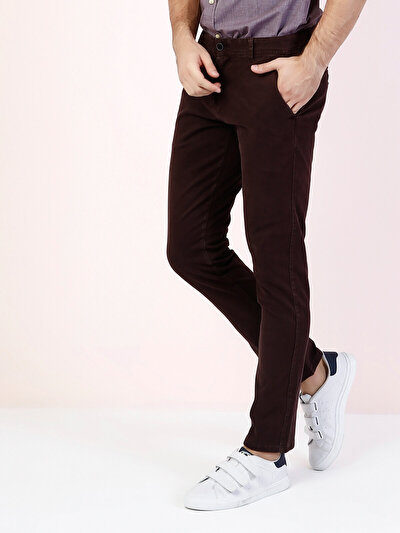 COLINS пурпурный мужской брюки<br>Пол: мужской; Цвет: сливовый; Размер INT: 28/32;