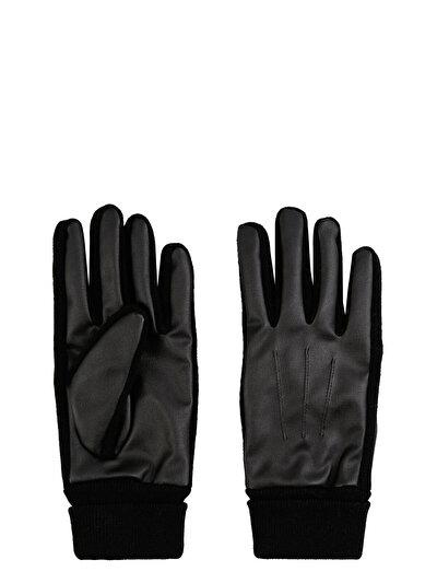 COLINS черный мужской перчатки<br>Пол: мужской; Цвет: черный; Размер INT: L/XL;