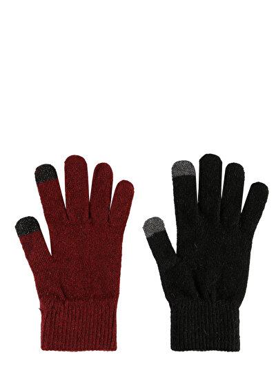 COLINS черный женский перчатки<br>Пол: женский; Цвет: черный; Размер INT: STND;