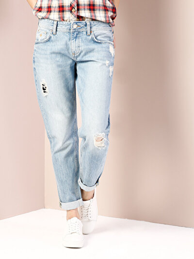 COLINS  женский брюки<br>Пол: женский; Цвет: нарес уош; Размер INT: 26/28;